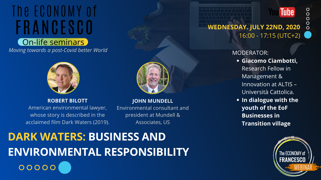#EoF - 22/07/2020 On-life seminar with Robert Bilott and John Mundell
