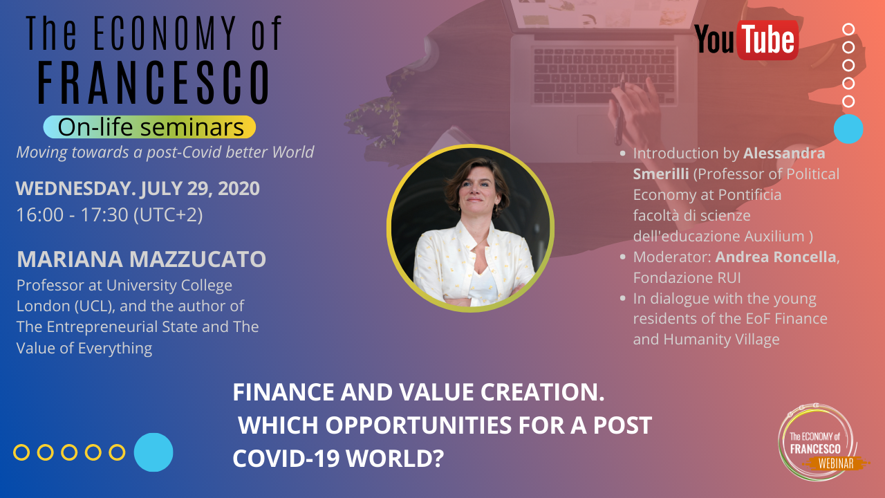 #EoF - 17/07/2020 On-life seminar with Mariana Mazzucato