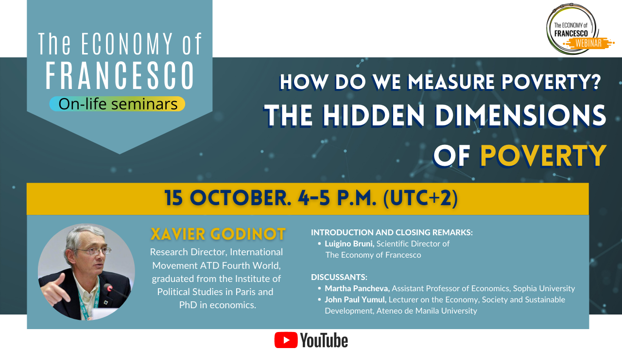 #EoF webinar - The Hidden Dimensions of Poverty