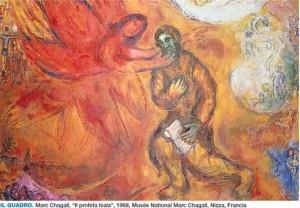 Il profeta Isaia Marc Chagall rid