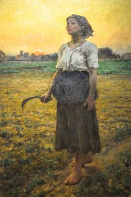 Jules Adolphe Breton The Song of the Lark 1884 Chicago