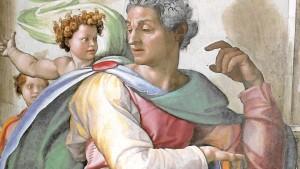 Profeta Isaia Michelangelo rid