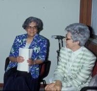 Eli Folonari e Chiara Lubich in Brasile nel 91