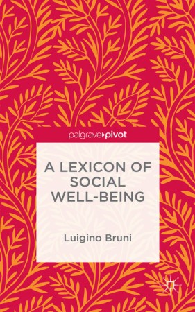 A Lexicon of social well being 450