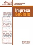 Special Issue of Impresa Sociale