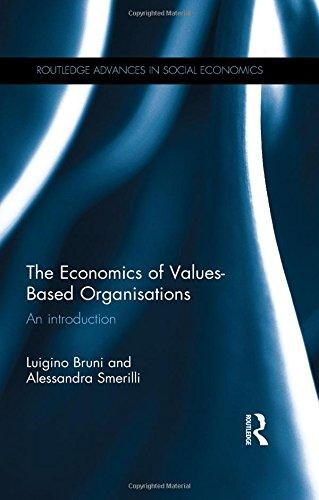The Economics of Values Based Organizations