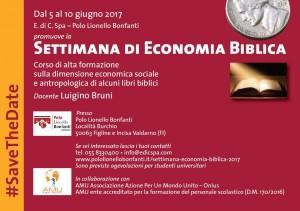 Settimana Economia Biblica rid