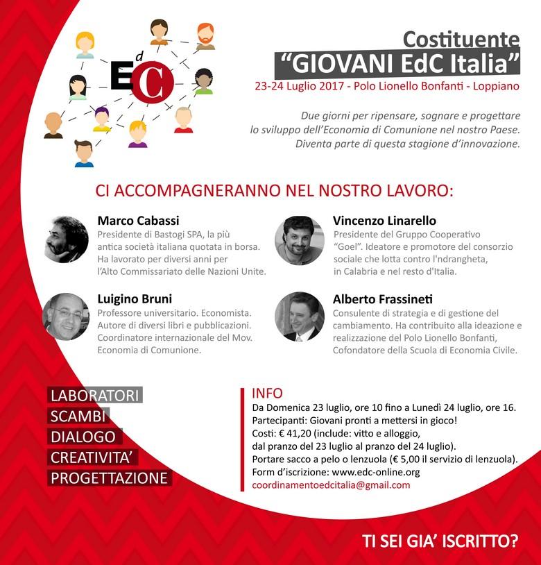 170723 24 Loppiano Costituente Edc Giovani Invito rid