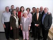 Il nuovo CdA con Maria Voce e Giancarlo Faletti, Presidente e co-Presedente del Movimento dei Focolari