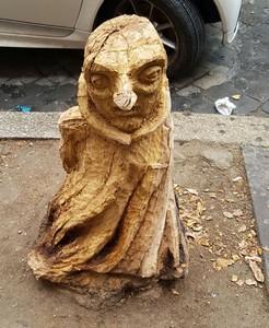 Albero statua crop rid