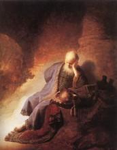 Jeremiah lamenting rid