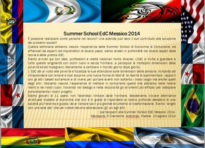 Messaggio Summer Edc Mexico 2014