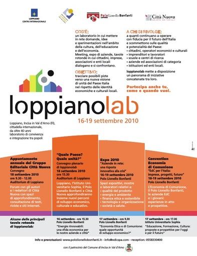 Loppianolab - volantino