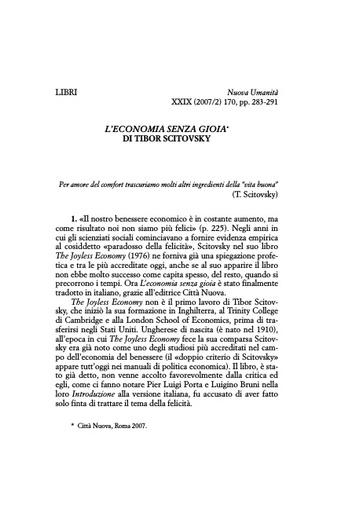 Nuova Umanita 2007-02 Smerilli