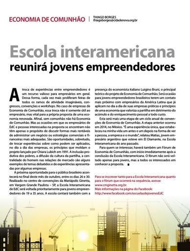 1510_Escola interamericana reunira jovens empreendedores