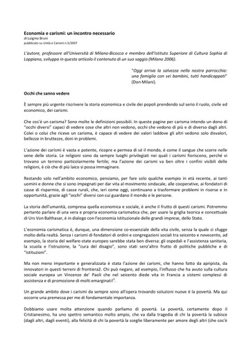 Unita e carismi 2007-05_Bruni