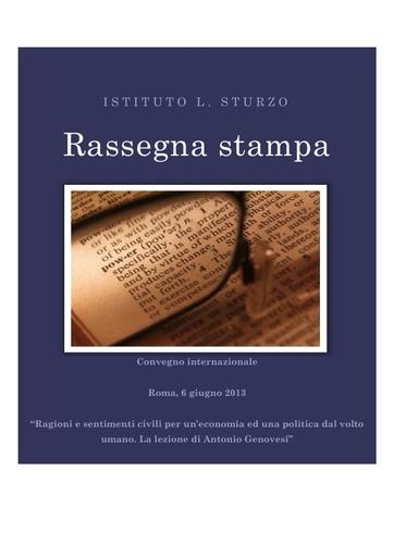 130606_Roma_Sturzo_Rassegna_stampa