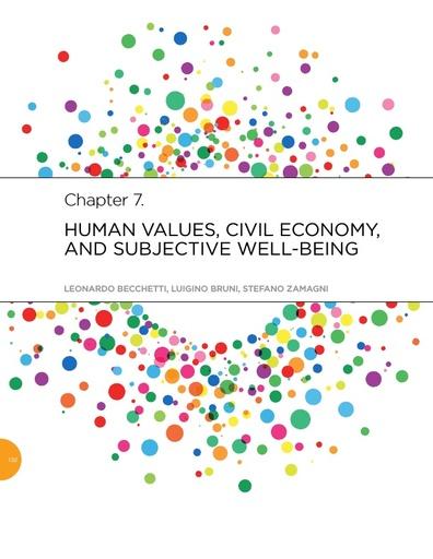WHR 2015 CH 7 Human Values Becchetti Bruni Zamagni