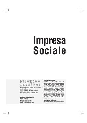 2009-03_Impresa sociale_sommario
