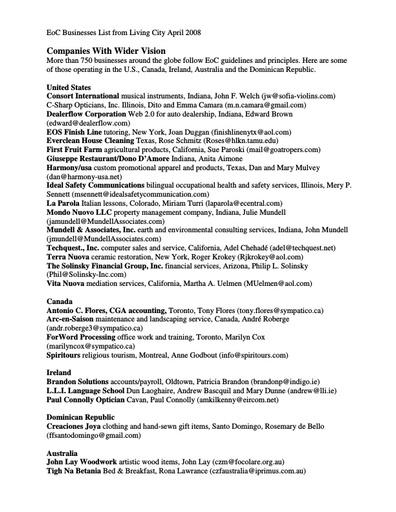 LC_042008_EoC Businesses List