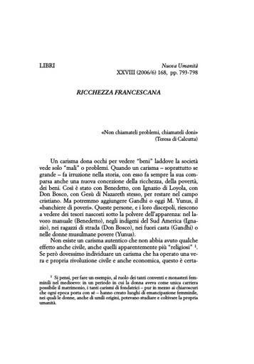 Nuova Umanita 2006-06 Bruni