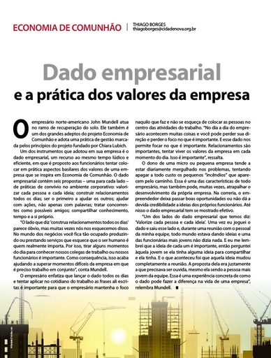 1506_Dado empresarial e a prática dos valores da empresa