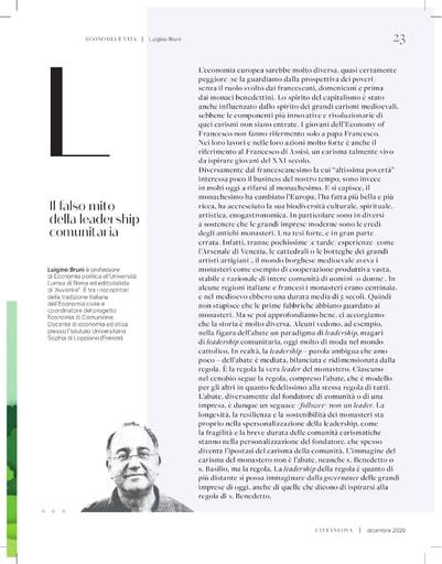 201201-CN-Il Falso mito della leadership comunitaria-Bruni