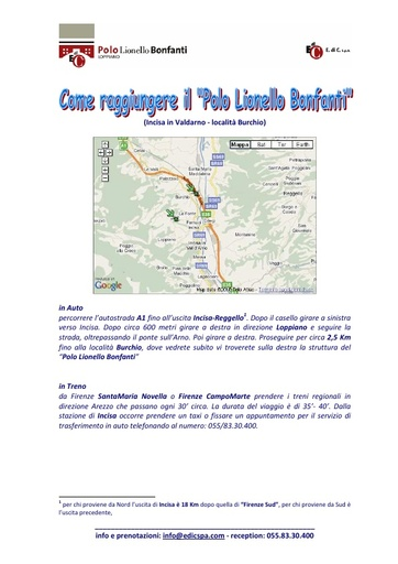 Expo 2010 - Come raggiungere il  Polo Lionello Bonfanti