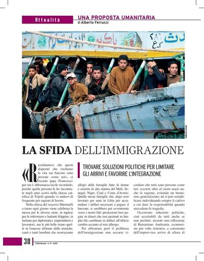 150610 CN La sfida dell immigrazione Ferrucci